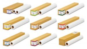 大判インクジェットプリンターをお使いなら必見!豊富な品揃えとメーカーを問わない汎用性!大判インクジェット用紙のバリエーションと用途